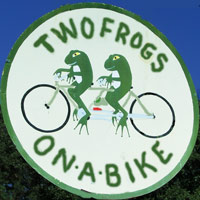 Two (2) Frogs On A Bike Antiques, near Hanover Courthouse, VA